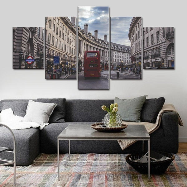 London Land Canvas Art Paintings at Trendy Canvas Art