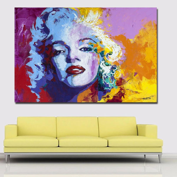 Loving Monroe Canvas Art Paintings at Trendy Canvas Art