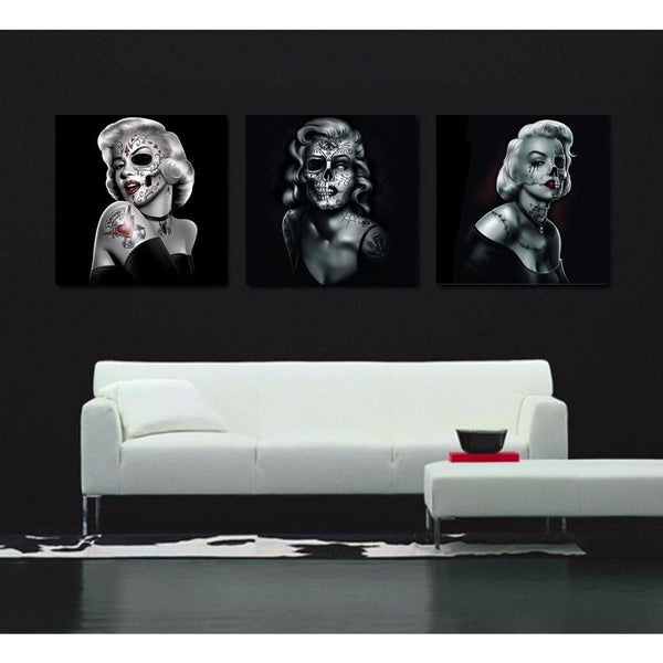 Marilyn Muertas - canvas wall art prints