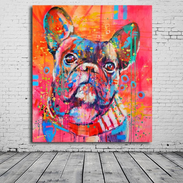 Puppy Eyes - 28x32 / Canvas Print - canvas wall art prints