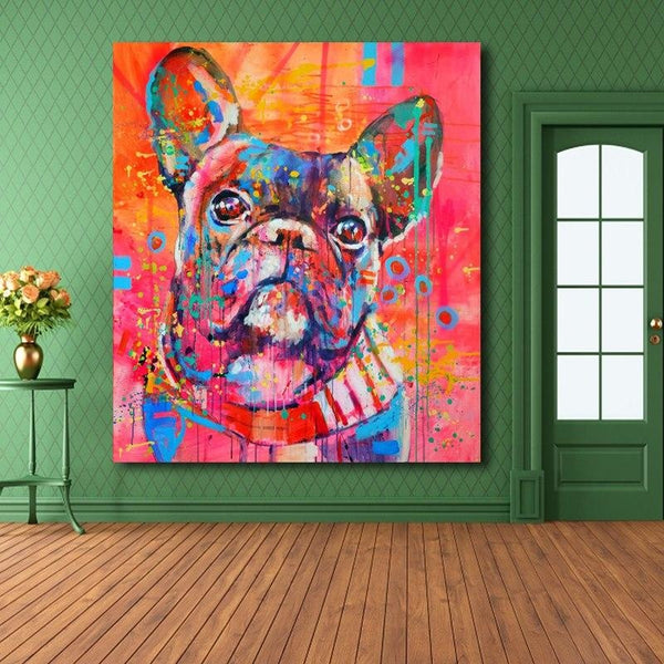 Puppy Eyes - canvas wall art prints