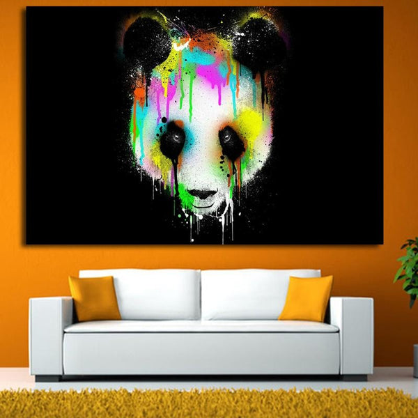 Tears Of The Panda - 24x36 / Canvas Print - canvas wall art prints