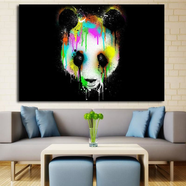 Tears Of The Panda - canvas wall art prints