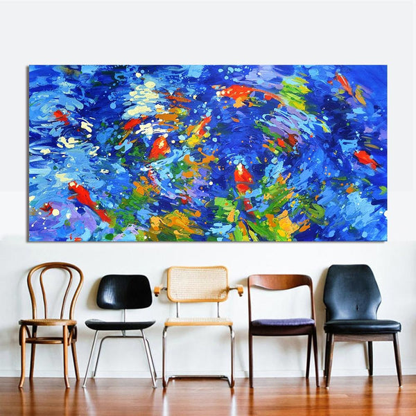 The Dreamy Swim Team Canvas Art Paintings at Trendy Canvas Art