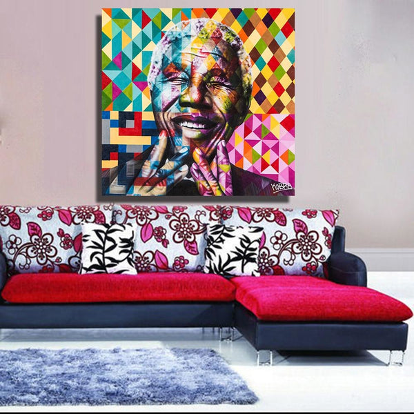 The Mandela Meaning Canvas Art Paintings at Trendy Canvas Art