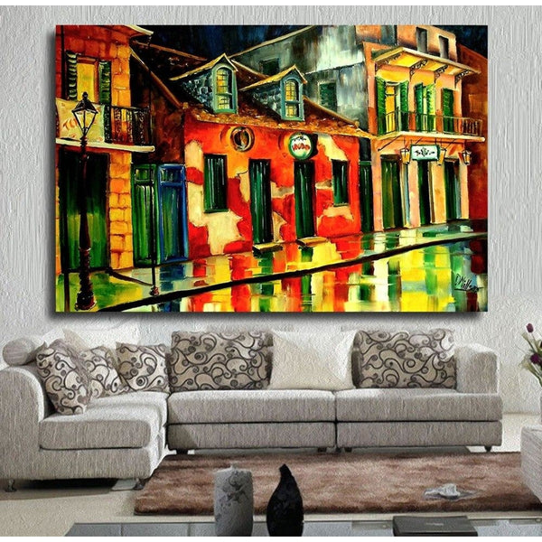 Voodoo shop Canvas Art Paintings at Trendy Canvas Art