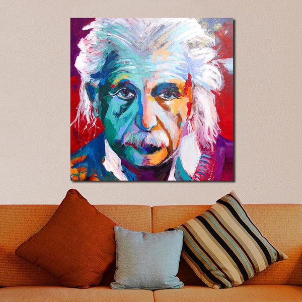 Whats up Albert - 28x28 / Canvas Print - canvas wall art prints