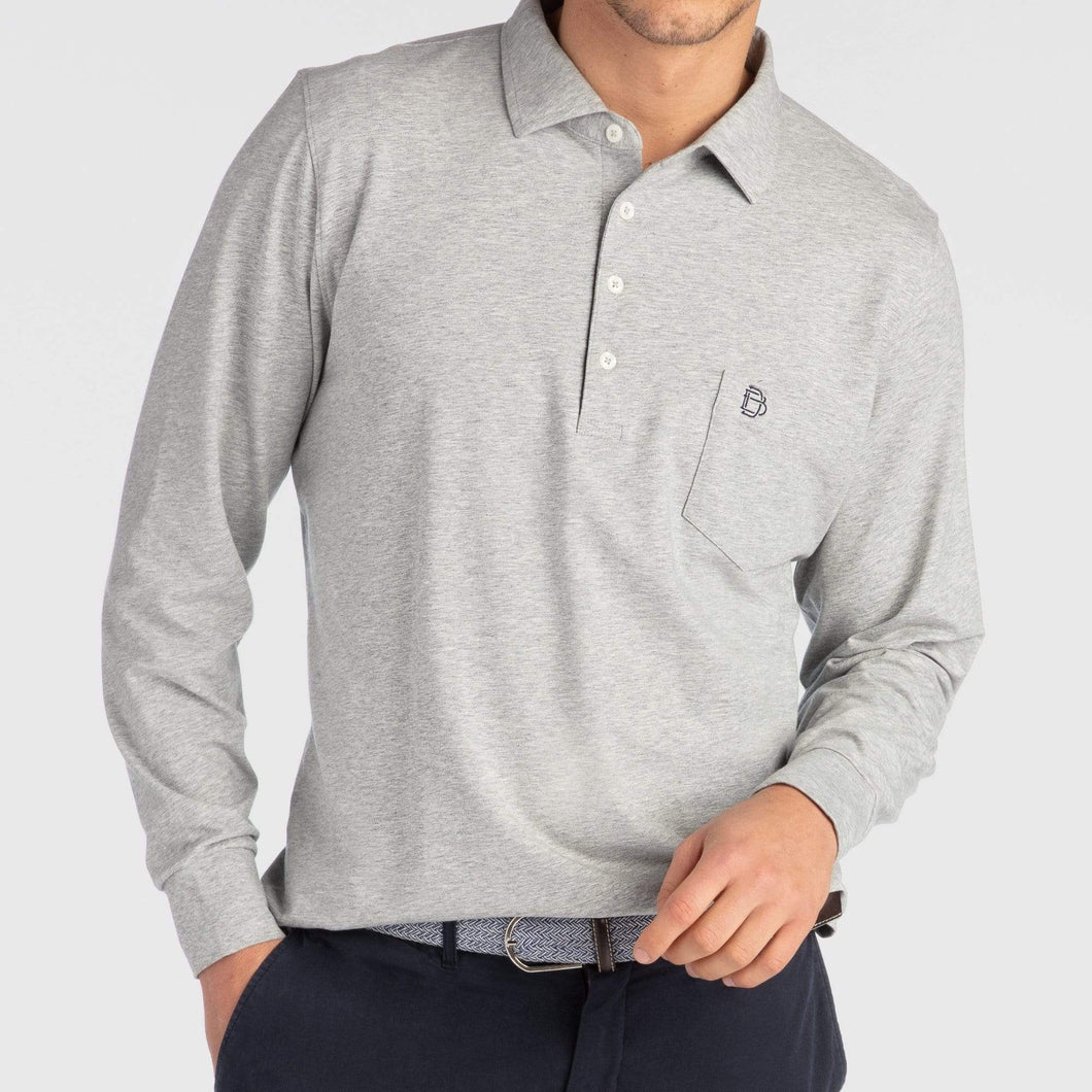 JACK LONG-SLEEVE POLO