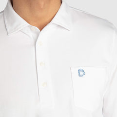 JACK LONG-SLEEVE POLO - B.Draddy