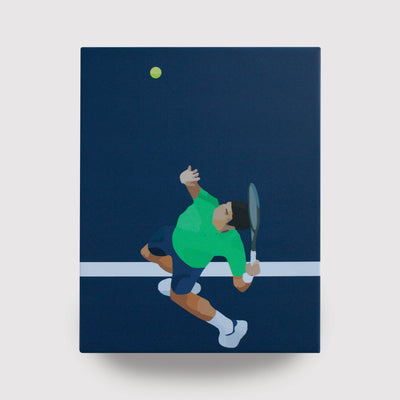 B.Draddy Draddy Sport Canvas Illustration