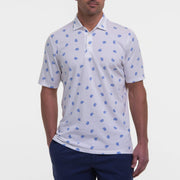 B.Draddy WHITE / SML NORWOOD POLO
