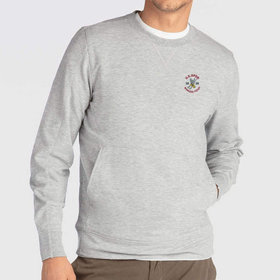 B.Draddy GREY HEATHER / SML 2020 U.S. OPEN RUSS CREWNECK