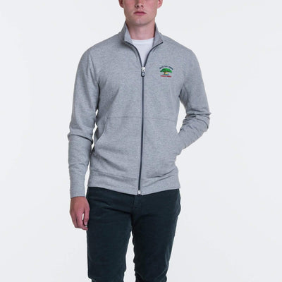 B.Draddy GREY HEATHER / SML 2021 U.S. OPEN RUSSEL FULL ZIP