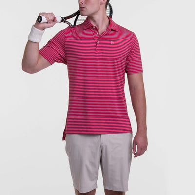 B.Draddy NEW RED / SML DRADDY SPORT FINN POLO - SALE