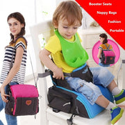 2-In-1 Portable Diaper Bag + Booster Seat