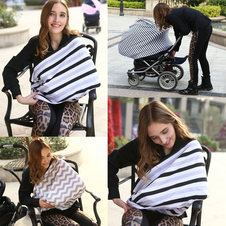 5-in-1 Mommy Cover Scarf