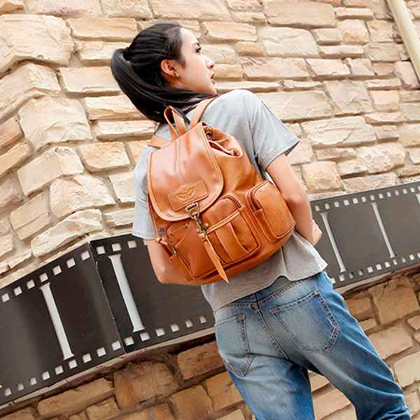 Premium Vintage Travel Backpack