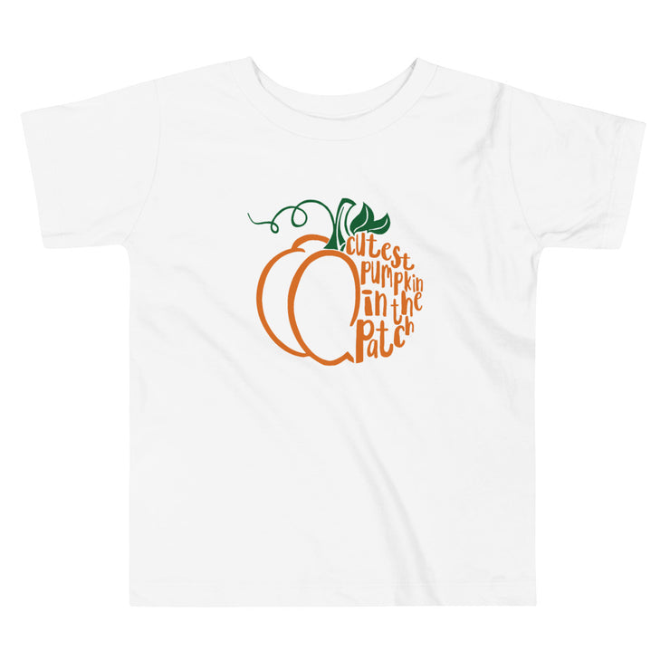 Cutest Pumpkin in The Patch Toddler Tee