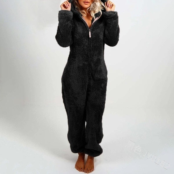 CC® Premium Winter Warm Furry Onesie