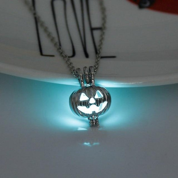 Premium Luminous Pumpkin Necklace