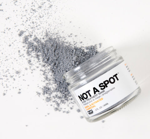 not a spot acne treatment mask