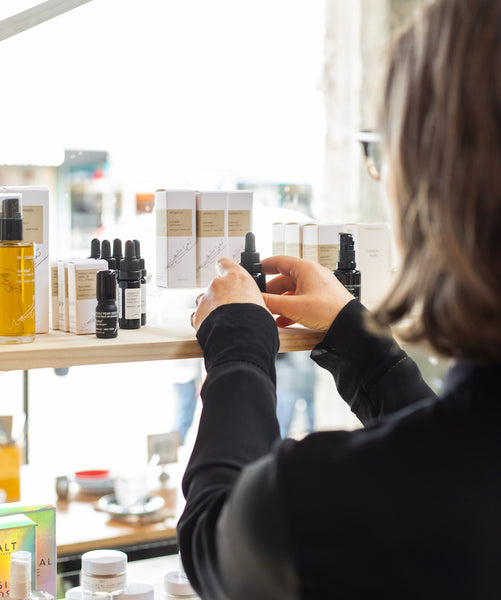 selecting clean beauty products for the store
