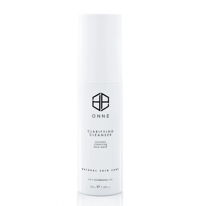 Clarifying cream face cleanser by Onne.