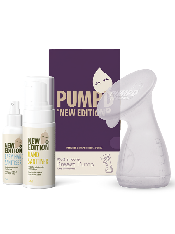 Pumpd Pump and Family Hand Sanitiser Pack