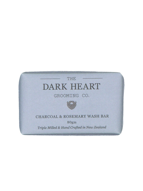 Activated Charcoal and Rosemary Wash Bar