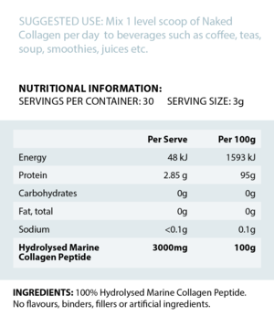 Naked Collagen - PRE ORDER