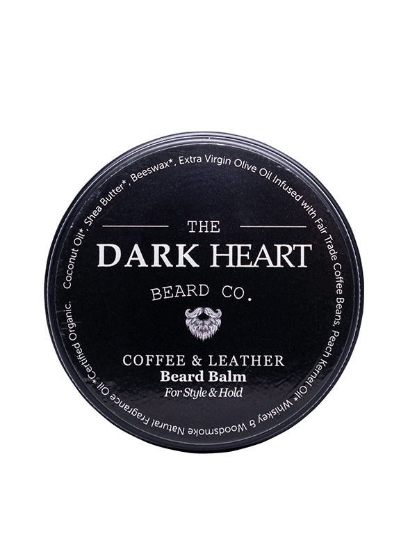 Coffee and Leather Beard Balm