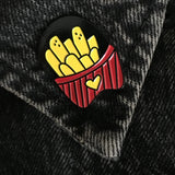 Love Fries Pin