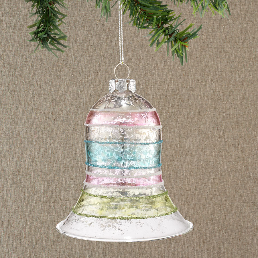 Stripe Bell Ornament