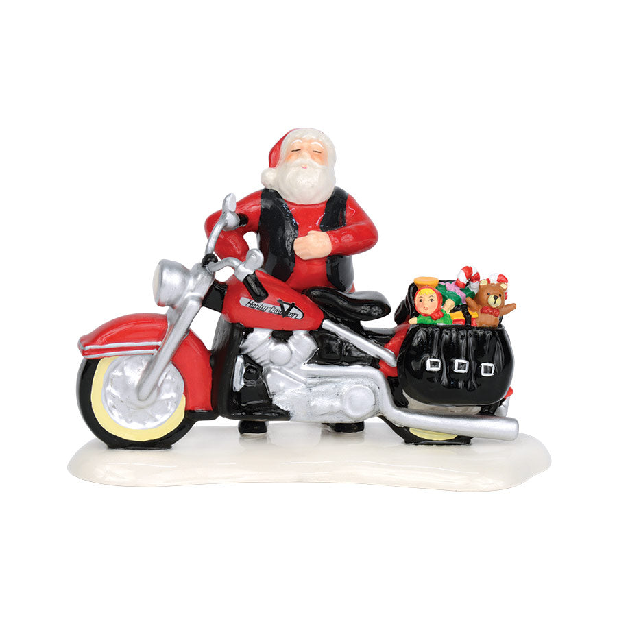 Santa's New Sleigh Is A Harley