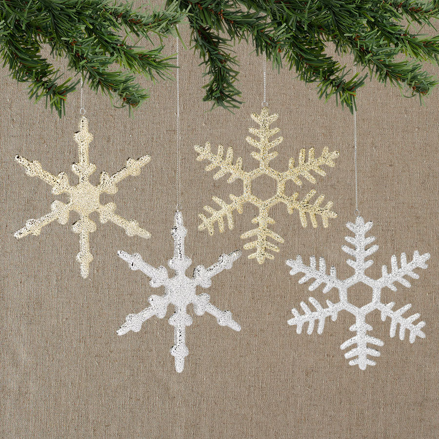 Snowflake Ornament, 4a