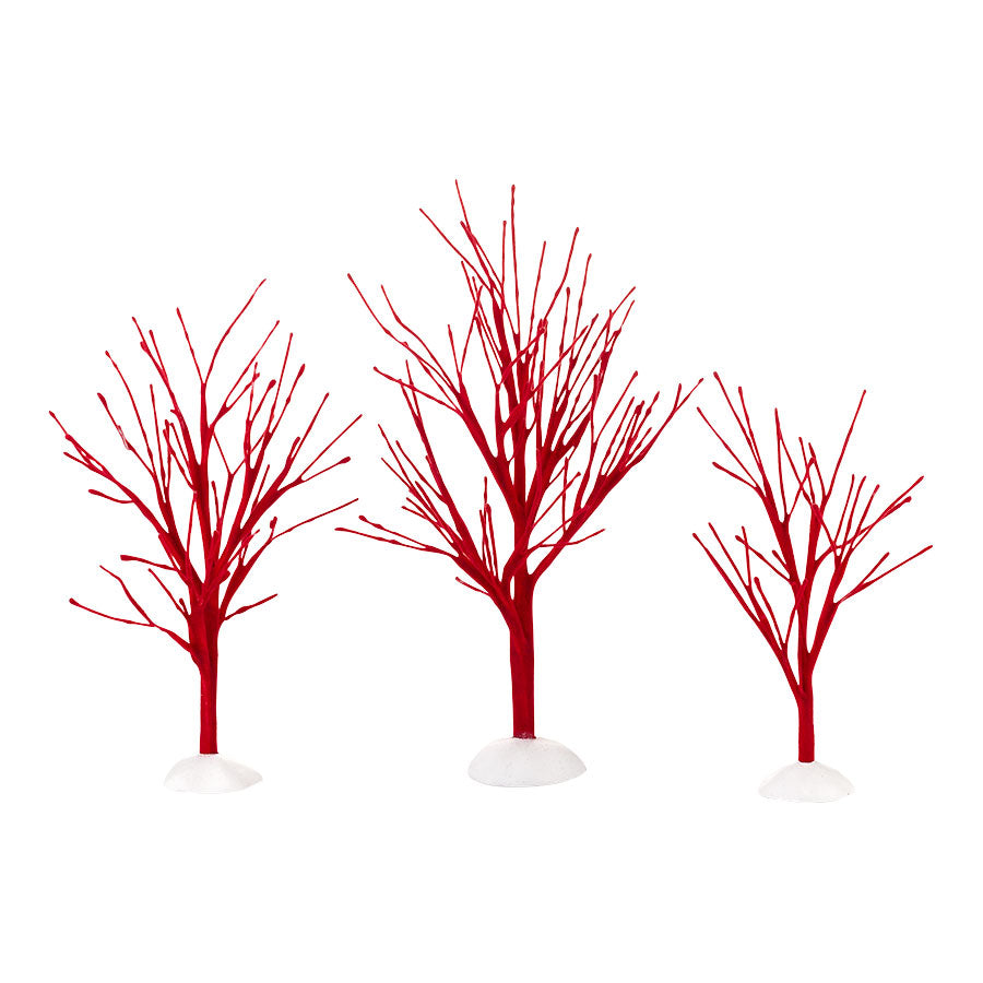 Red Bare Branch Trees, St/3