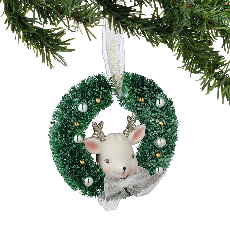 Reindeer Wreath Ornament