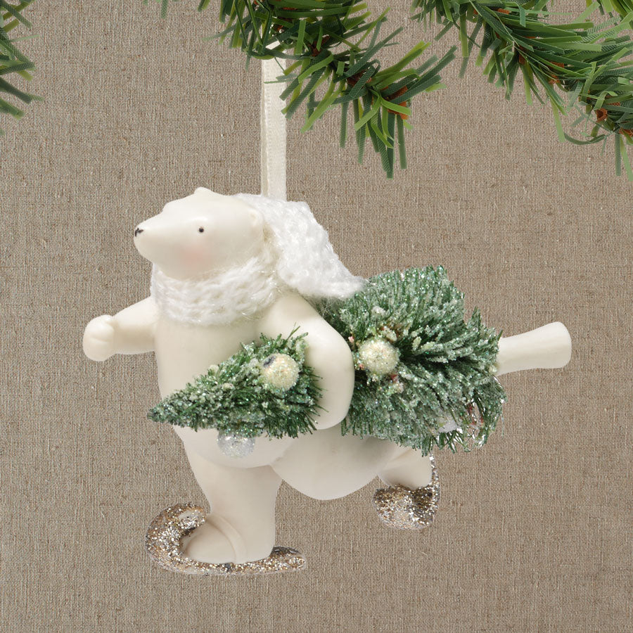 Polar Delivery Ornament