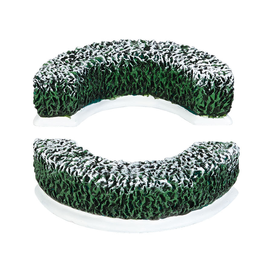 Tudor Gardens Curved Hedge S/2