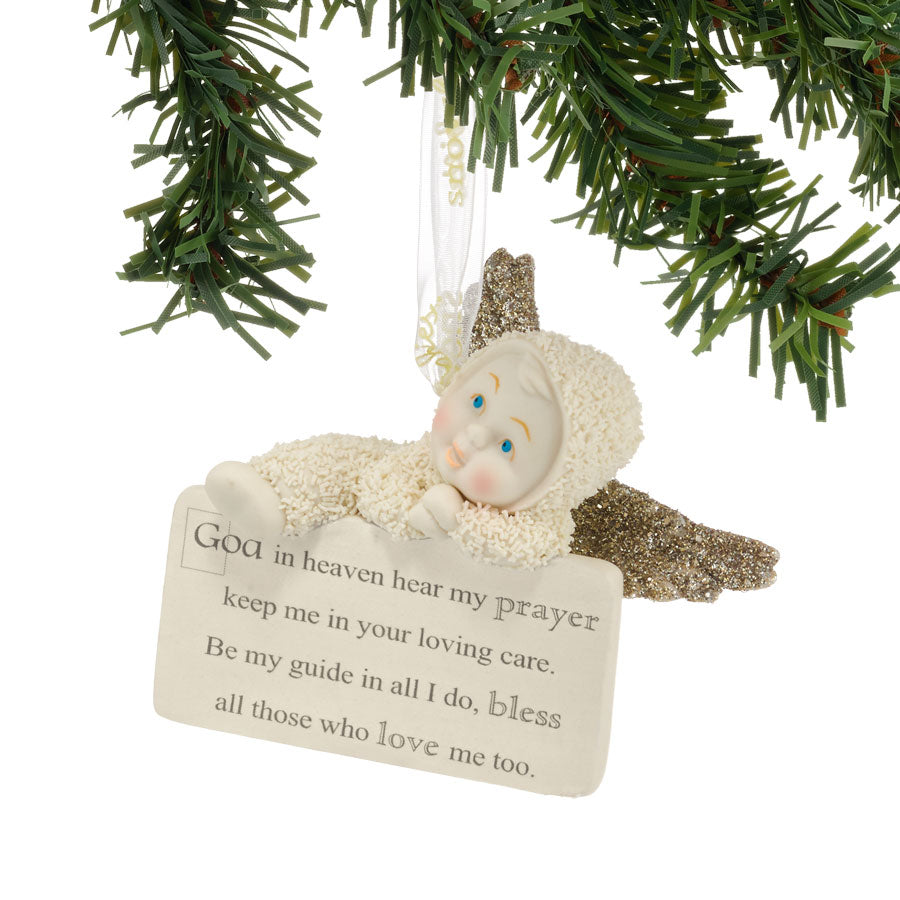 Hear My Prayers Ornament