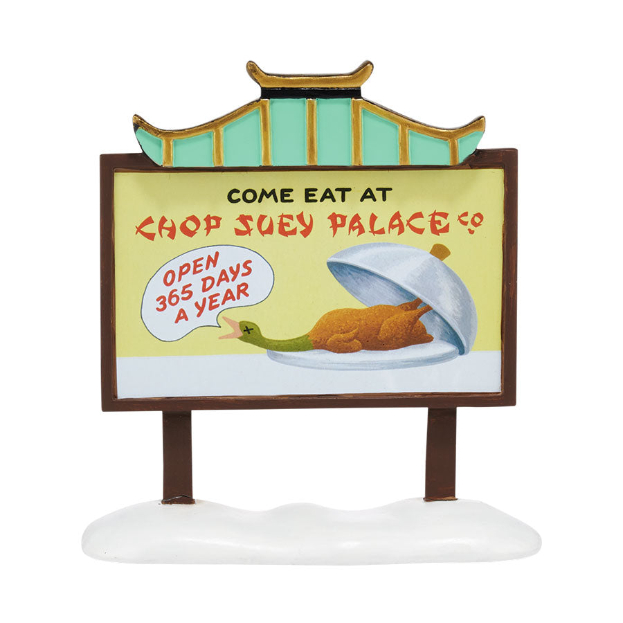 Chop Suey Palace Billboard