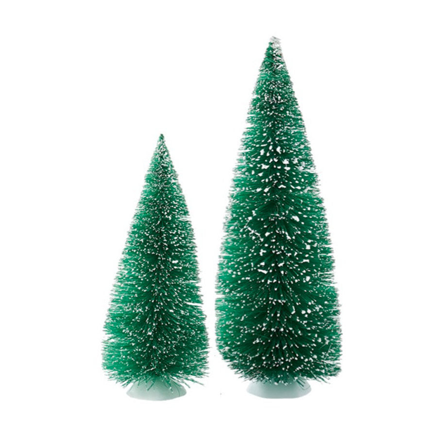 Jumbo Green Sisal Trees, St/2