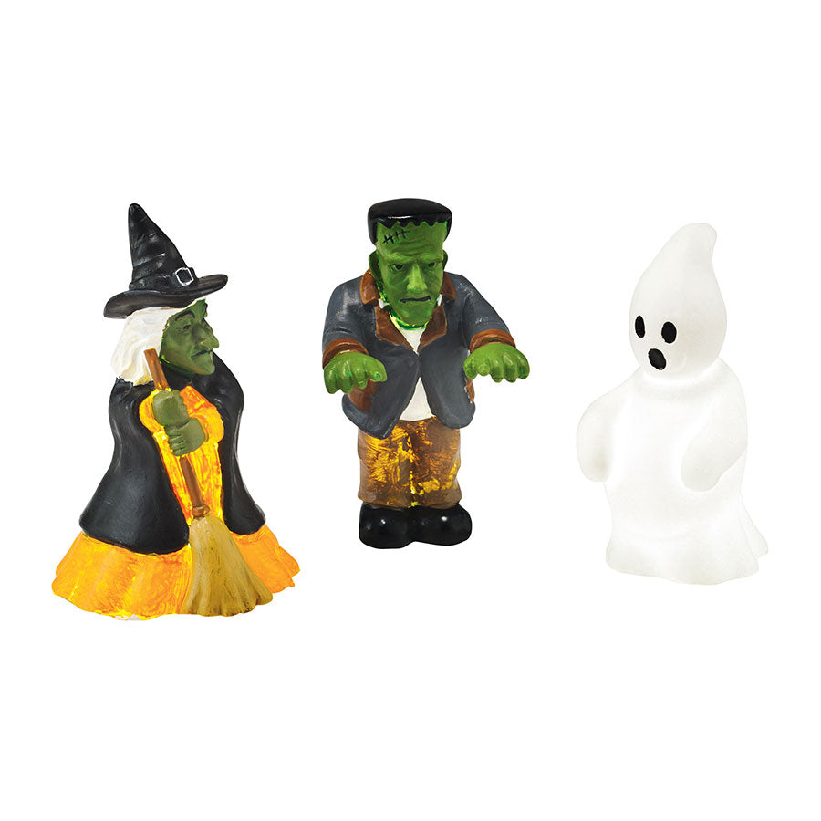 Lit Halloween Lawn Decor