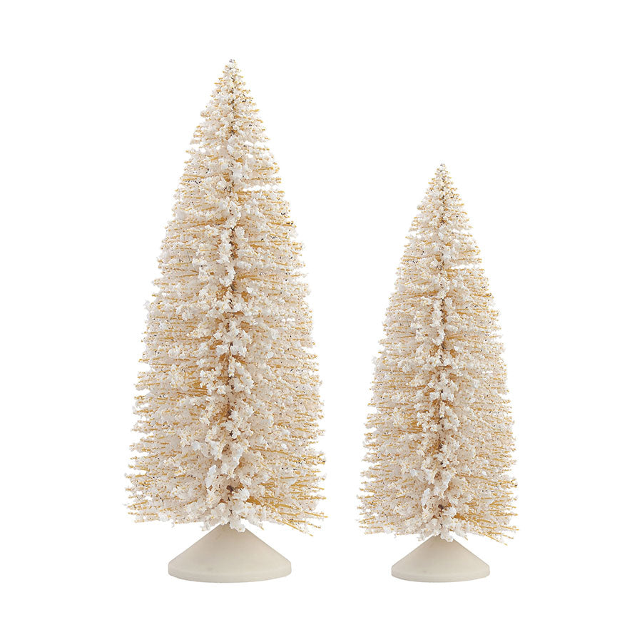Cream Sisal Tree, St/2