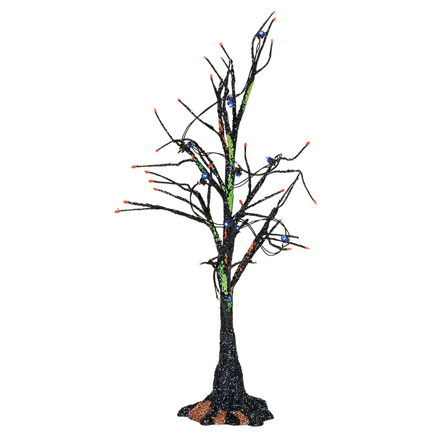 Black Light Bare Branch Tree