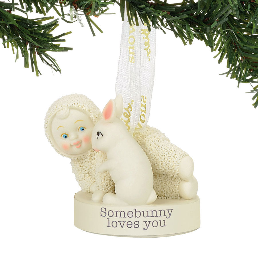 Somebunny Loves You Ornament