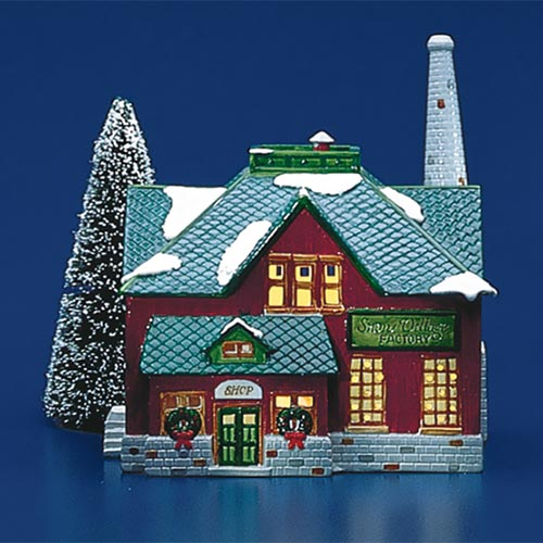 Snow Village Factory