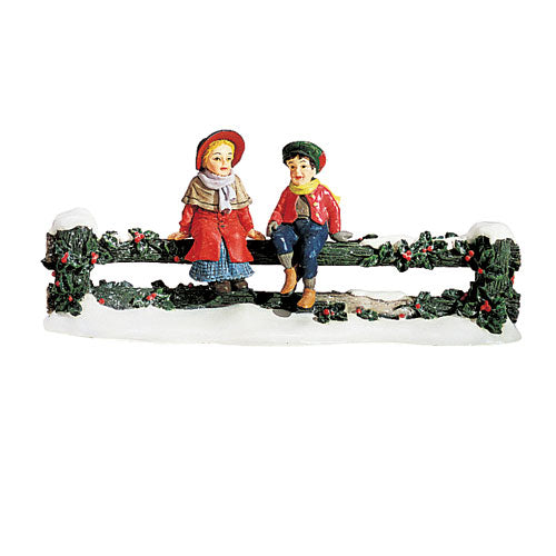 Holly Split Rail Fence With Se