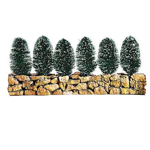 Stone Wall With Sisal Hedge