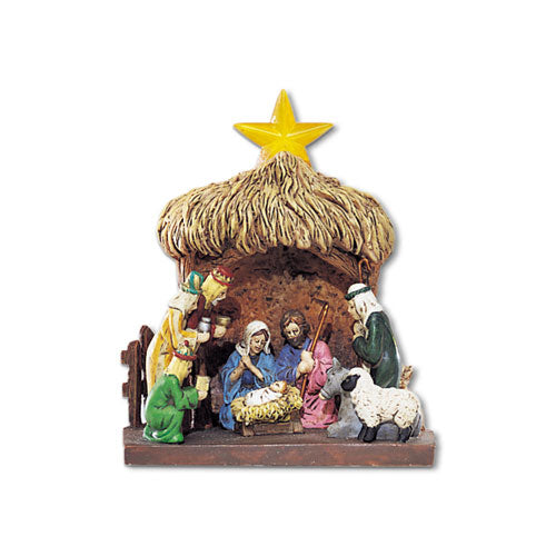 Village Nativity Crèche